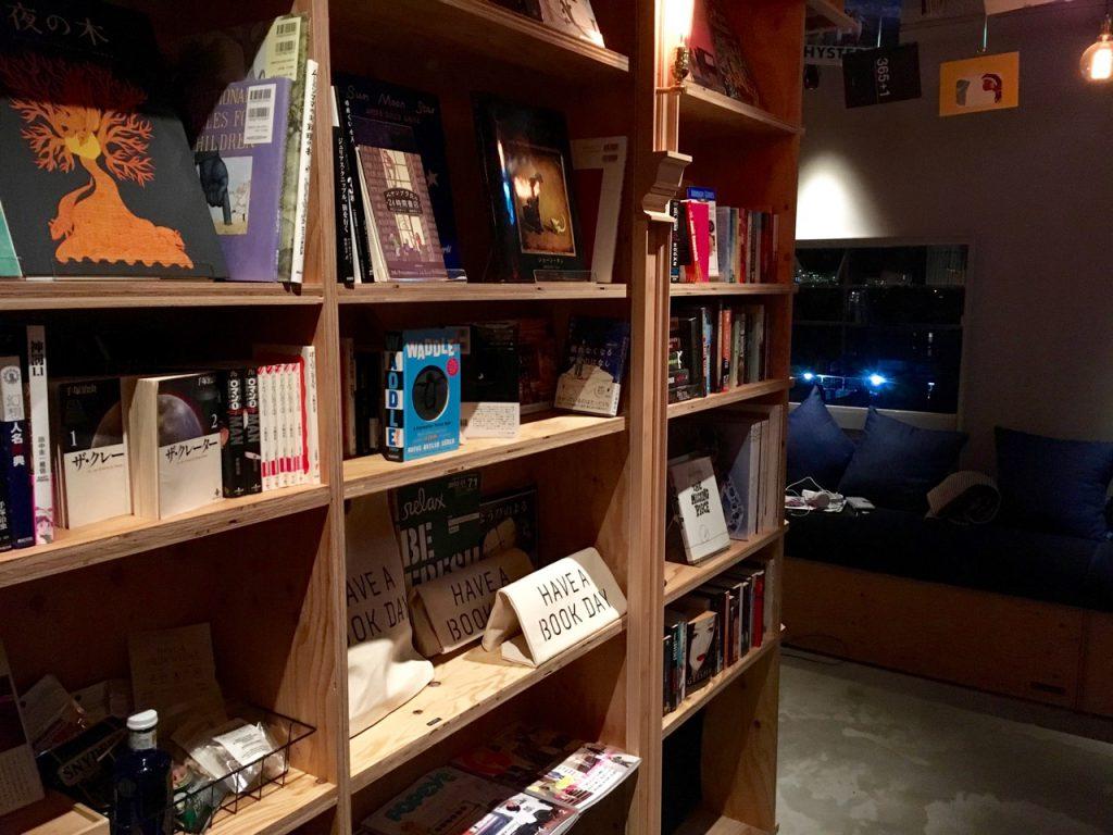 泊まれる本屋 BOOK AND BED TOKYO-KYOKO 京都店