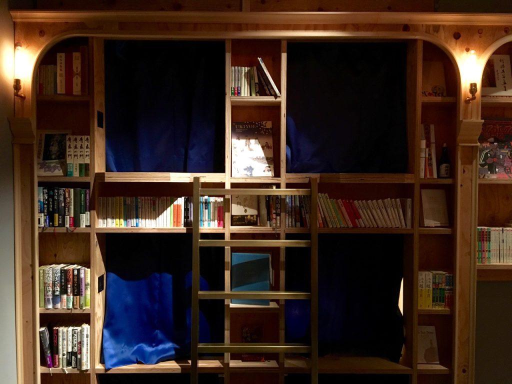 泊まれる本屋 BOOK AND BED TOKYO-KYOKO 京都店 客室入り口
