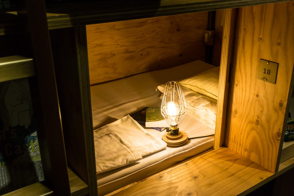 泊まれる本屋 BOOK AND BED TOKYO-KYOKO 京都店の客室