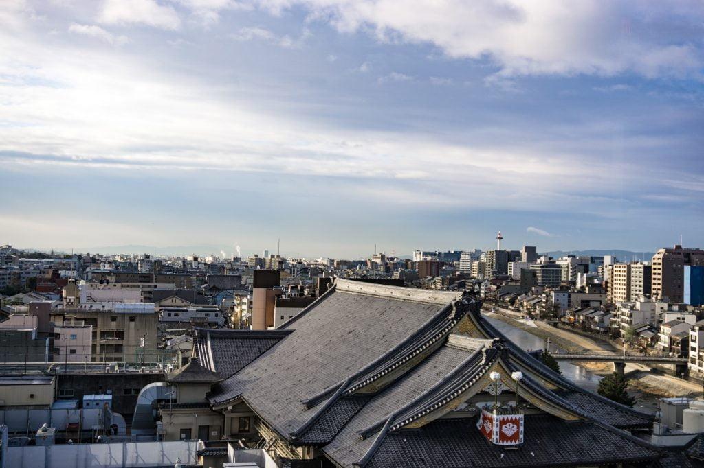 泊まれる本屋 BOOK AND BED TOKYO-KYOKO 京都店からの眺望