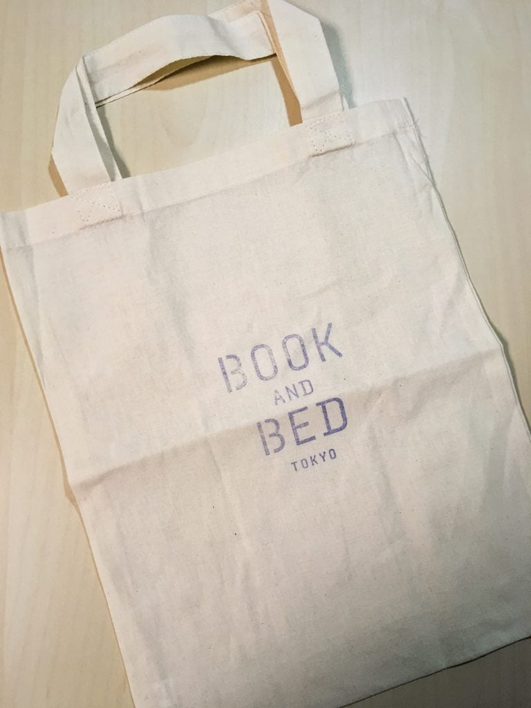 BOOK AND BED TOKYO 手提げ袋