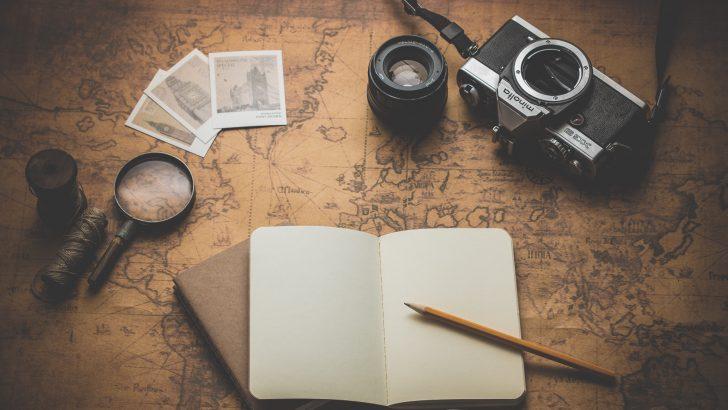 カメラとノート