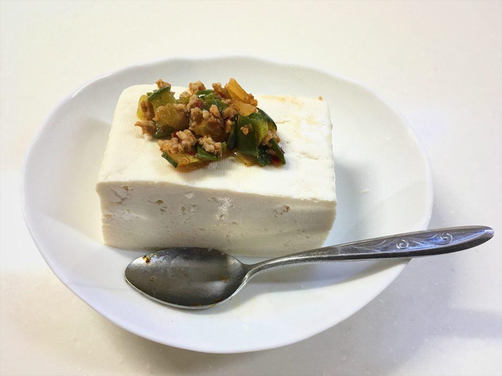 りゃんばん豆腐
