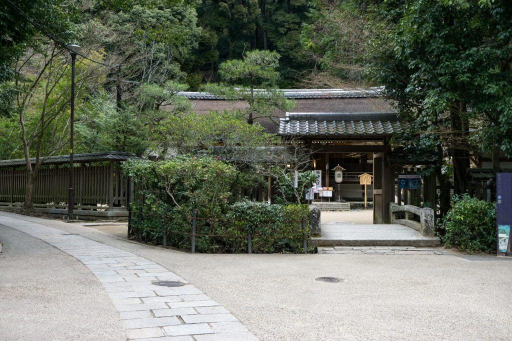 さわらびの道(宇治上神社前)