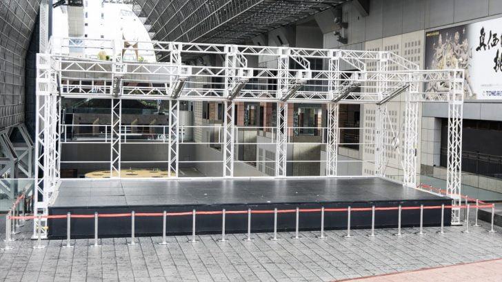 京都駅駅舎 ステージ