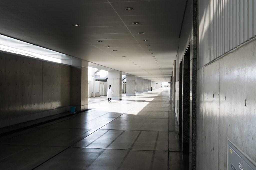 京都駅駅舎 南北通路