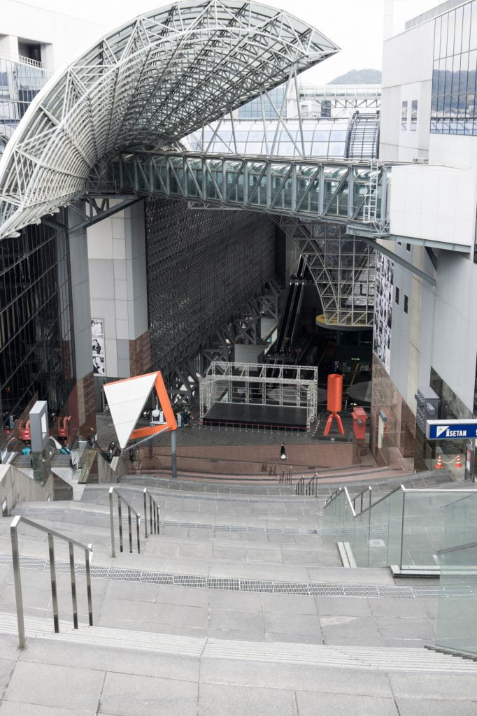 京都駅駅舎 大階段