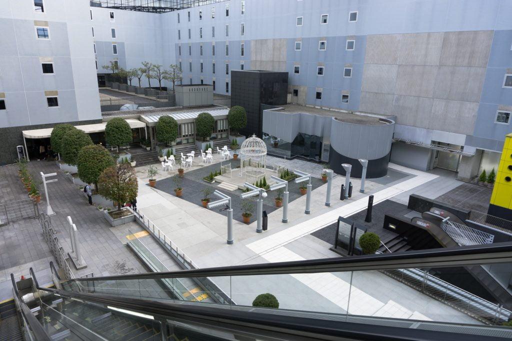 京都駅駅舎 広場
