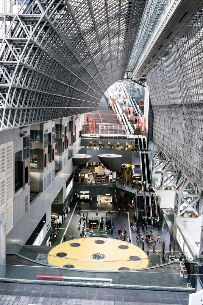 京都駅駅舎 中央