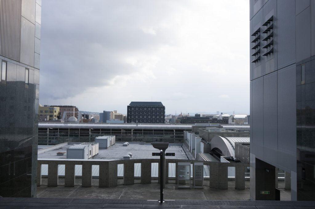 京都駅駅舎 ステージ脇