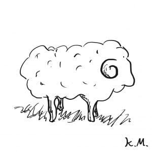 一文物語365 挿絵 羊