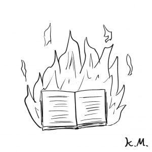 一文物語365 挿絵 炎の書