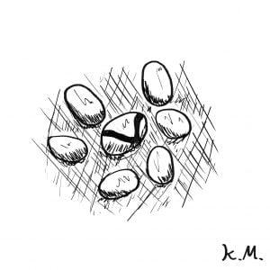 一文物語365 挿絵 卵