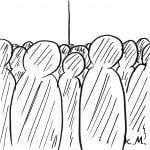 一文物語365 挿絵 人の群がり