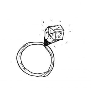 一文物語365 挿絵 宝石の指輪