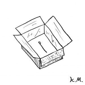 一文物語365 挿絵 箱の中に歯ブラシ