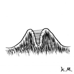 一文物語365 挿絵 山