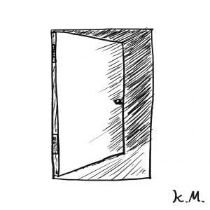 一文物語365 挿絵 ドア
