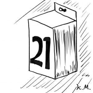 一文物語365 挿絵 日めくりカレンダー