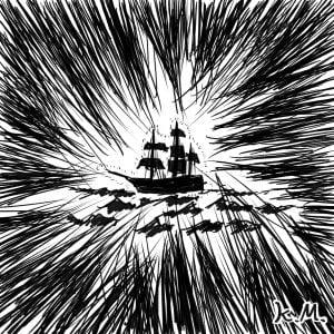 一文物語365 挿絵 帆船