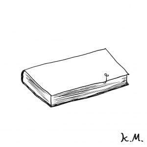 一文物語365 挿絵 本に木の芽