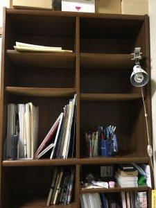 本のない本棚