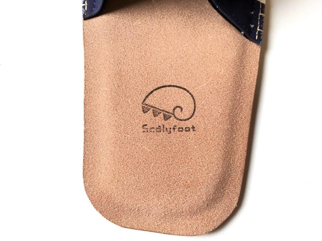 森田布包製作所の帆布を使用したスリッパ