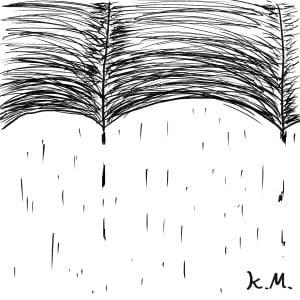 一文物語365 挿絵 傘