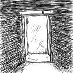 一文物語365 挿絵 エレベーター