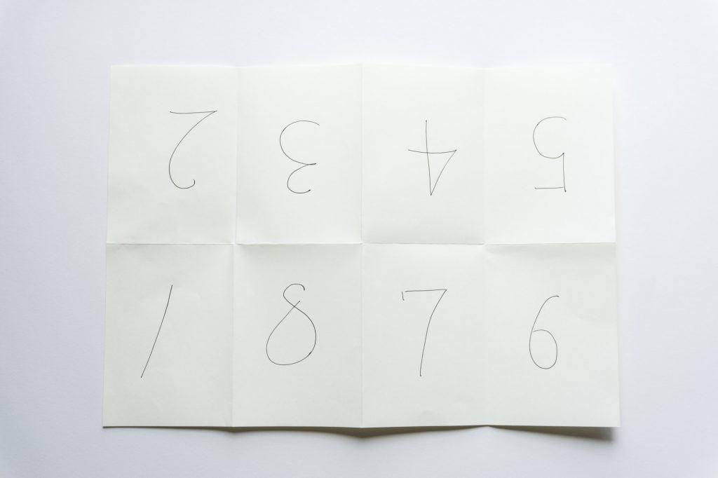 小冊子見開き表のページ構成