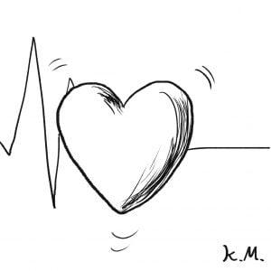 一文物語365 挿絵 ハートの心臓