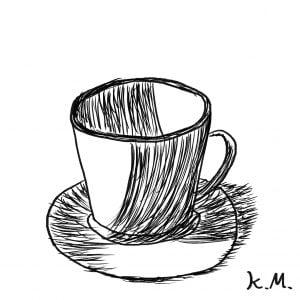 一文物語365 挿絵 コーヒーカップ