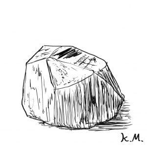 一文物語365 挿絵 岩