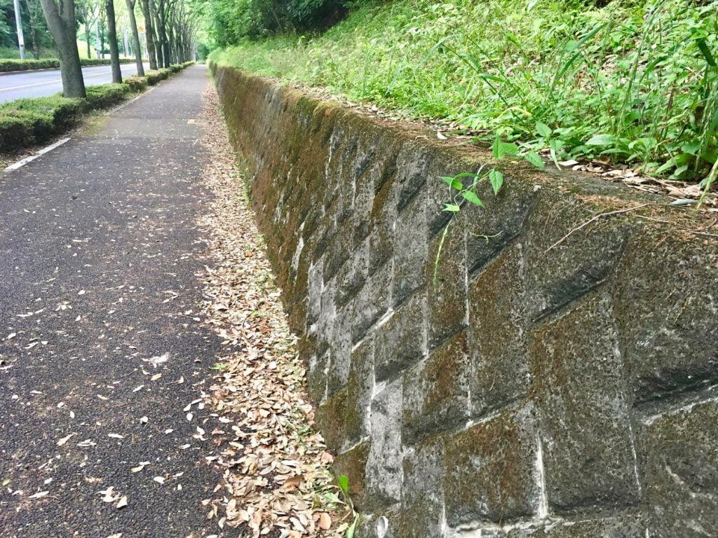 下りの石垣