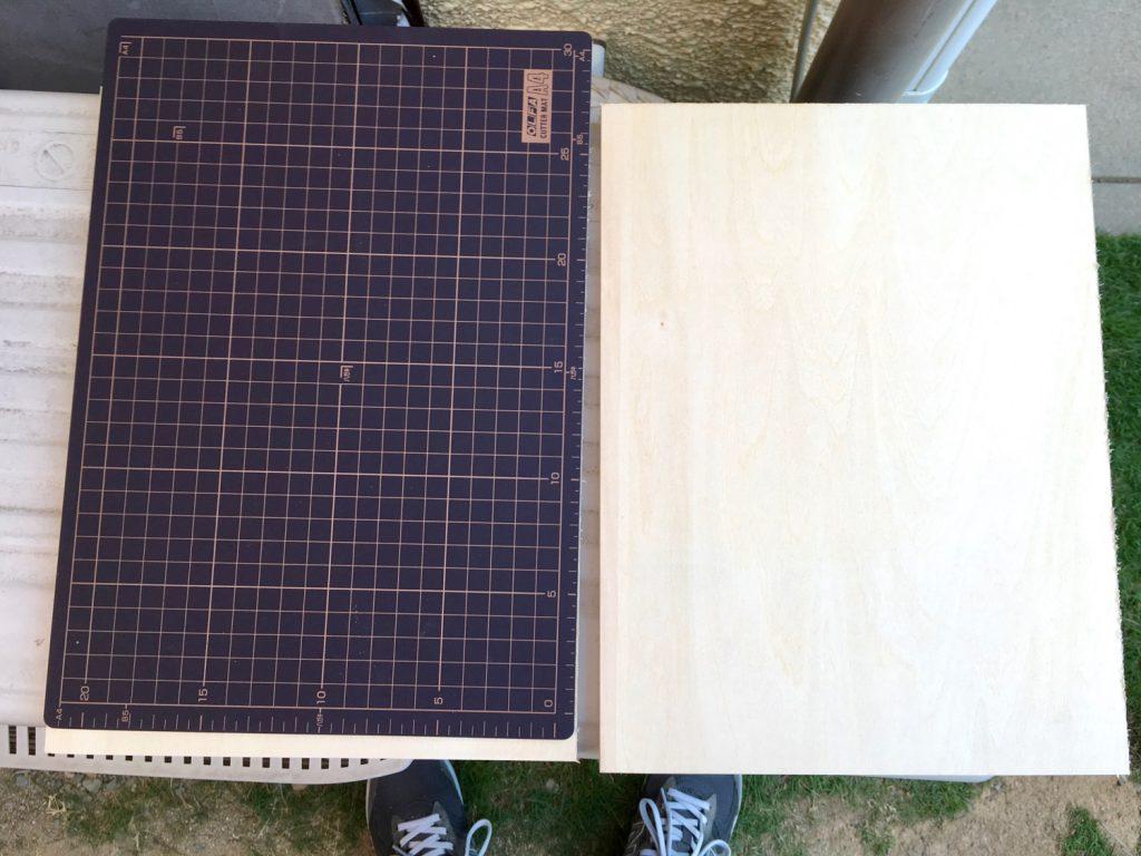 板とカッターマット
