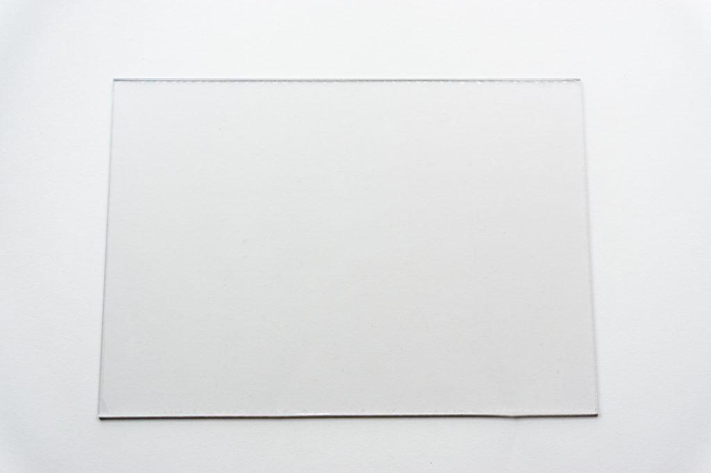 B6版穴あけガイド樹脂板