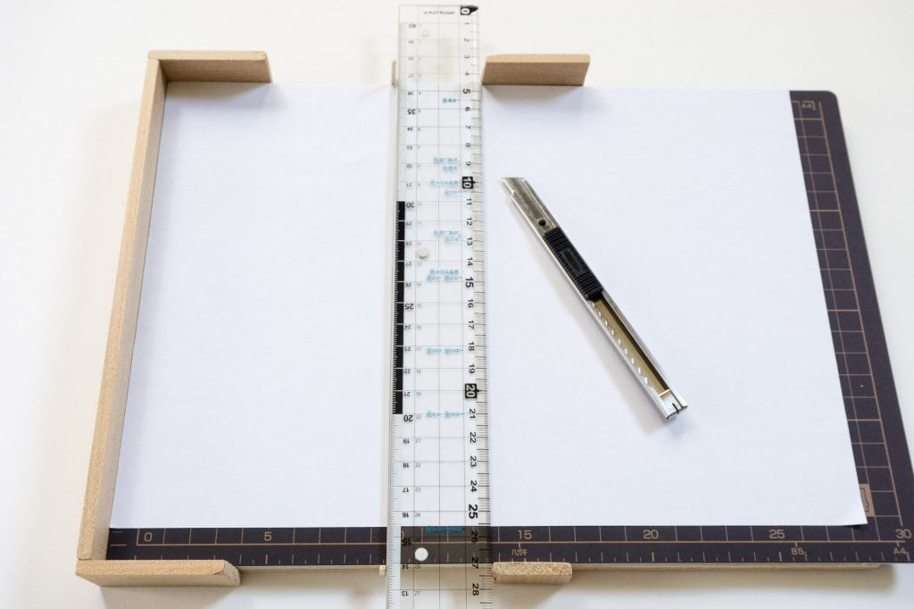 手製本はん・ぶんこ裁断道具A4用紙を半分にカット