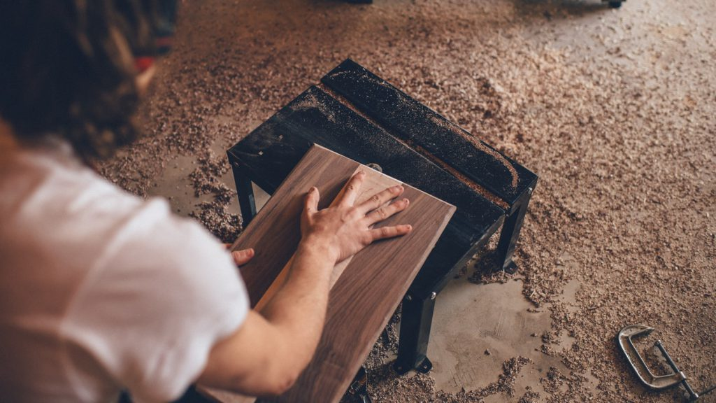 木で手作り