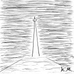 一文物語365 挿絵 白い塔