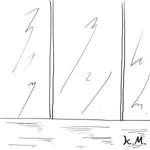 一文物語365 挿絵 ショーウィンドウ