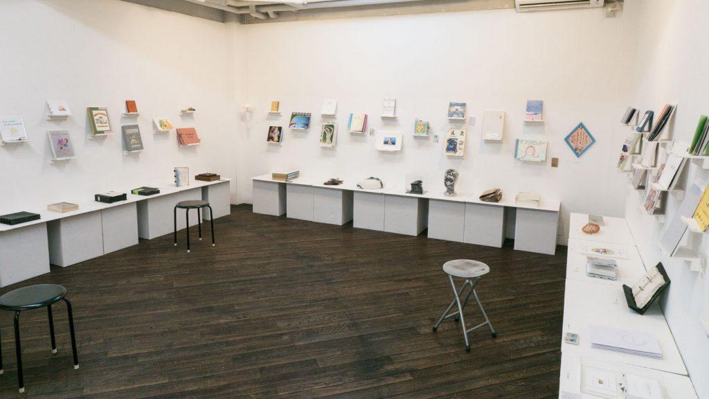THE LIBRARY 2017 TOKI Art Space 会場内