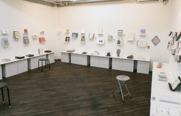 THE LIBRARY 2017 TOKI Art Space 会場内