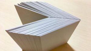 厚紙を折り続けて、さらなるコツをつかんだ日-想造日誌