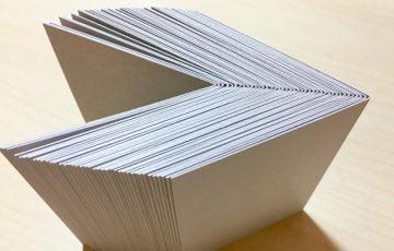 新作はん・ぶんこ 一文物語365 天の表紙用の厚紙