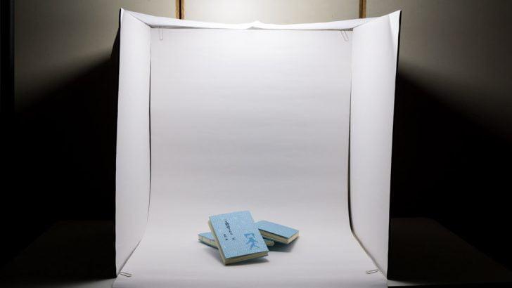 手作り撮影ボックス