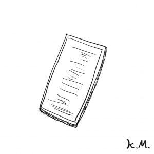 一文物語365 挿絵 携帯電話