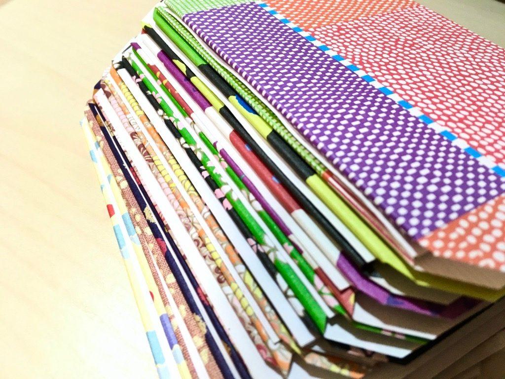 糸かがり手製本で仕立てる表紙