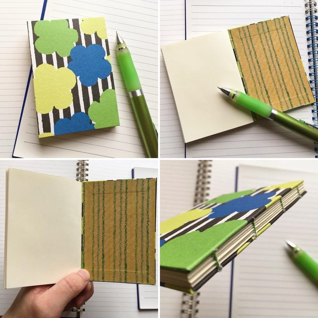 糸かがり手製本のノート