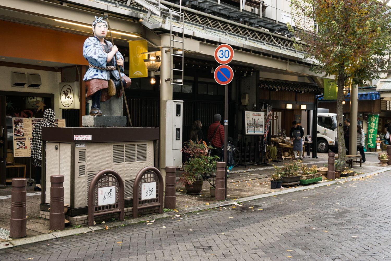 テレビアニメ「氷菓」聖地巡礼飛騨高山の本町2町目付近