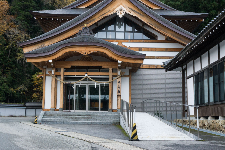 テレビアニメ「氷菓」聖地巡礼飛騨一宮水無神社